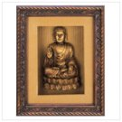 Golden Buddha Shadow Box  #13017