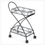 Metal Connoisseur�s Cart  #13397
