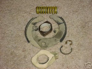 WHIRLPOOL KENMORE COMPLETE BRAKE ASSEMBLY 285438