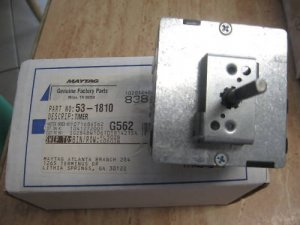 NEW  MAYTAG NORGE AMANA SPEED QUEEN DRYER TIMER 53-1810