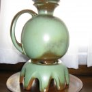 Frankoma Prairie Green Pitcher on Stand