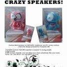 Crazy speakers