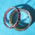 pink hard bracelet