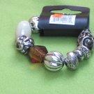 Amber glitter bracelet