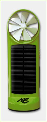 K3 Solar Wind Charger-Green