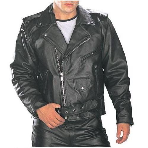 Brando Classical motorbike Leather Jacket Men