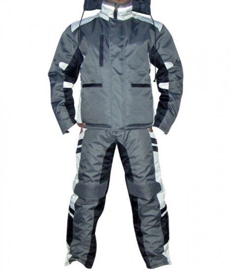 Ice Snowmobile Textile Waterproof & Windproof Suit 2-pc