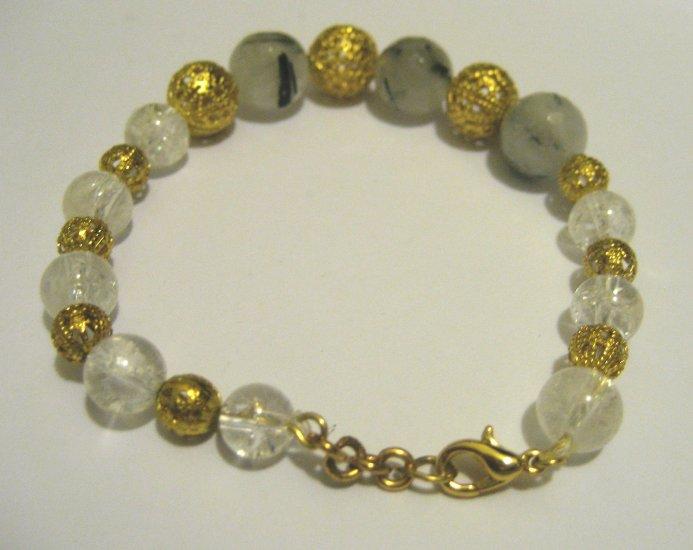 Fashion alloy crystal barcelet