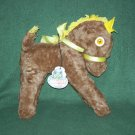 Vintage Antique Mohair Horse W/Hangtag Maydee Toy