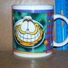 1996 Garfield Hang on For Christmas Coffee Mug