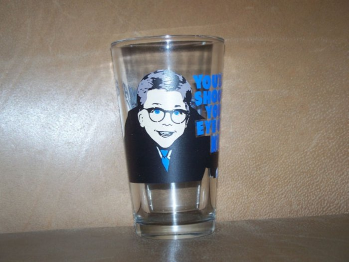 Christmas Story You'll Shoot Your Eye Out Glass Cup