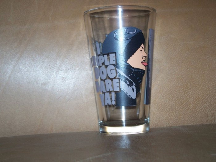 A Christmas Story I Triple Dog Dare You Glass Cup