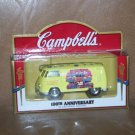 2000 Campbells 100th Anniversary Die Cast Hippy Van
