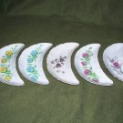 Set of 5 Nasco Crescent Shape Bone Plates