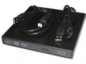 USB 2.0 External Panasonic UJ-240 Blu-Ray Burner Drive