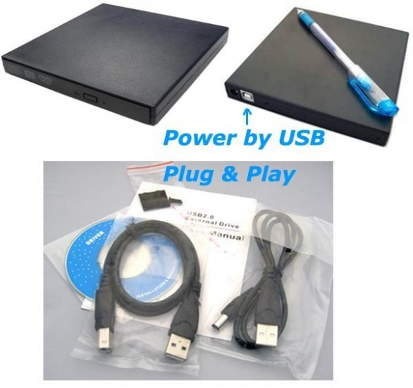 UJ-240 Laptop Blu-Ray BD-R BD-RE Writer Burner drive