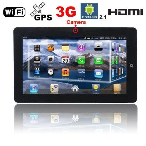 """10.2"""" EPAD FLYTOUCH3 ANDROID 2.3 WIFI GPS MID TABLET PC"""