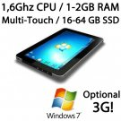 10.1 inch CAPACITIVE MULTI-TOUCH 32GB SSD DRIVE 1.6GHZ tablet PC