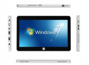 10.1 inch Windows 7 & Android 4 OS Tablet PC with 16GB HD 1GB RAM Wifi