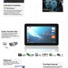 "10.1"" Win7 Tablet - Atom N455 - 2GB DDR3 - 32GB SSD windows 7 tablet"