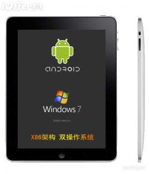 10.2 Slate Tablet PC, Windows 7, 2GB, 16GB,INTEL, WIFI