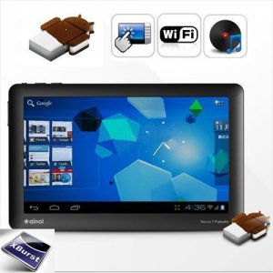 "New Android 4.0 Tablet PC Ainol Novo7 Paladin MID 7"" 8GB 1080P Netbook PDA Black"