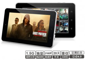 Teclast P75a 7 Inch Capacitive Screen 8GB Tablet PC A10 1.2GHZ video chat