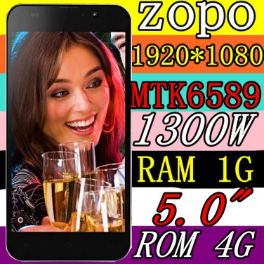 ZOPO C2 - 5 inch 1080P Screen MTK MT6589 Quad-core 13MP Camera Android Phone