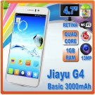 Jiayu G4 MTK6589 Quad Core 1.2Ghz CPU 4.7inch IPS Screen 1280x720 GPS Wifi 3G Smart Phone