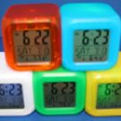7-color-changing clock