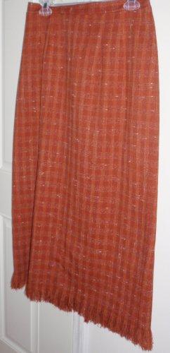 ladies size 12 SAGHARBOR skirt (ORANGE)
