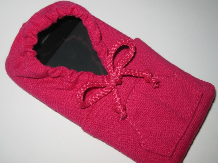 Fashion Fuchsia Girly Colored Hoodie 4 iPhone / iTouch / iPod And Other Gadgets Case