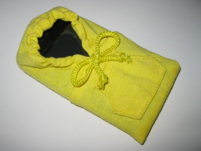Lemon Yellow iPhone / iTouch / iPod Hoodie Sweater Phone Sleeve Case
