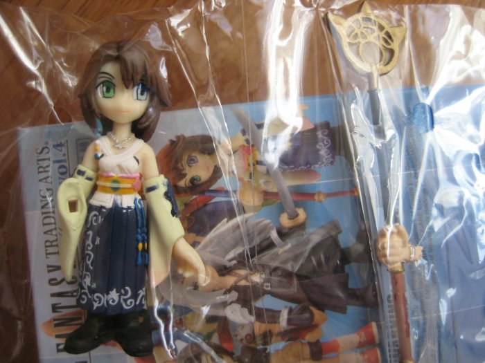 Final Fantasy Trading Arts Mini Volume 4 - Yuna