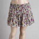 Floral Flirty Teired Skirt (C4-812)