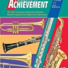 Accent on Achievement Book 3 B-Flat Clarinet  book only