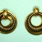 Egyptian-style Dangle Earrings Post Style Vintage Jewelry