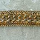 Vintage Triple Cable Chain Bracelet Jewelry