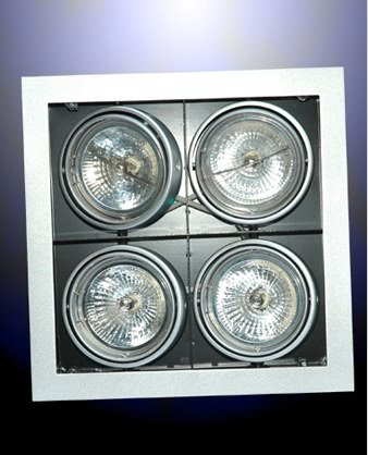 Grille Down Reflector Lights