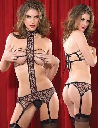 Leopard T-bar Teddy Code: GB5031