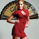 Stunning Chinese Club Sensational Chemise Sz M/L Code: ZL2456