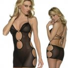 Sexy Sheer Cut Out Chemise Code: YS6060