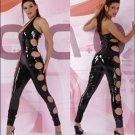 Sexy Vinyl Wild Cut Out Suit Code: RHL36 Sz XL