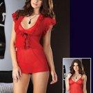 Lycra Net Sleepwear Babydoll-Code: GB8116