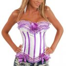 Sensational Ruffles Trimmed Fashion Bustier-Code: AM2559A