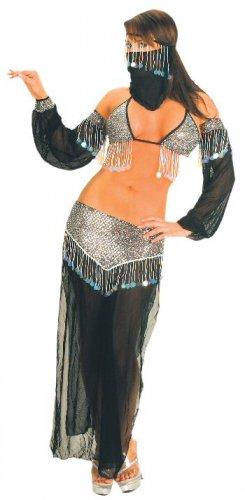 Purple Belly Dancer Dancing Costume Sz S/M 1184A-W8552