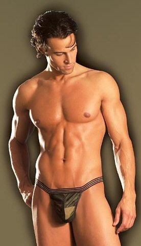 Camo Whammo - Men's Novelty G-Strings 0875L