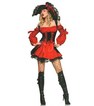 Plus Size Vixen Pirate Wench Costume - Sz XXL Code: PL8085
