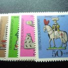 GERMANY B450-B453 MNH FREE SHIPPING in the U.S.