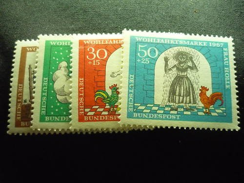 GERMANY B426-B429 MNH FREE SHIPPING in the U.S.